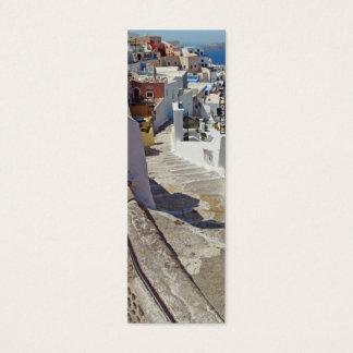 Fira View, Santorini Bookmark Mini Business Card