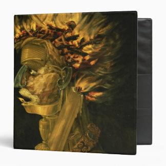 Fire, 1566 3 ring binder