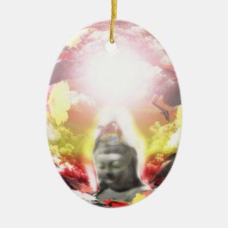 Fire 2 of God Ceramic Ornament