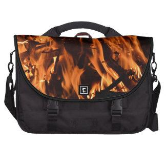 fire-432478 fire wood forest nature orange black b laptop computer bag