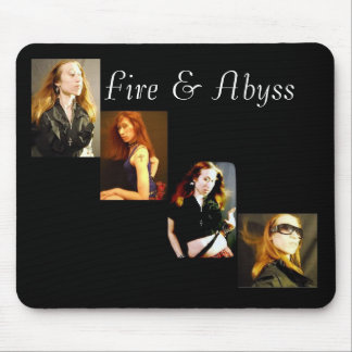 Fire & Abyss Lady Rayvin Mouse Pad