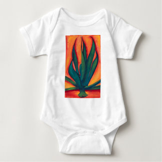 Fire Agave Baby Bodysuit