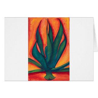 Fire Agave Card