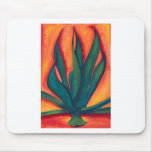 Fire Agave Mouse Pads