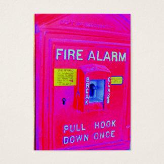 Fire Alarm Business Card