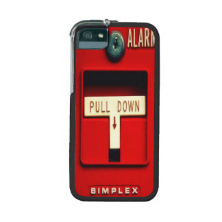 Fire alarm case for iPhone 5