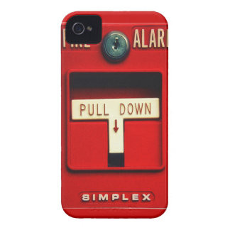 Fire alarm iPhone 4 cover