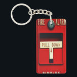 "Fire alarm keychain<br><div class=""desc"">Hello and Welcome this design represents a local fire emergency alarm.</div>"