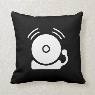 Fire Alarm Pictogram Throw Pillow