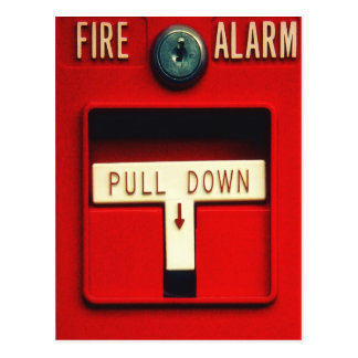 Fire alarm post cards