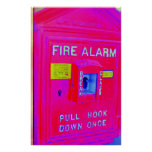 Fire Alarm Poster