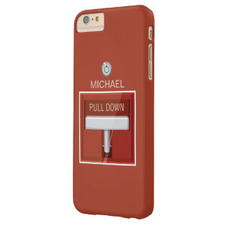 Fire Alarm Station Barely There iPhone 6 Plus Case
