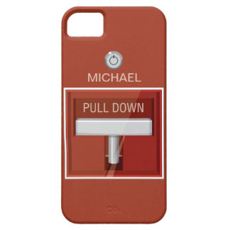 Fire Alarm Station iPhone 5 Cover