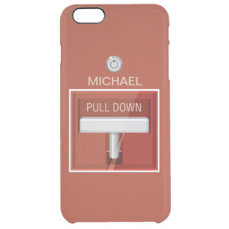 Fire Alarm Station Funny Clear iPhone 6 Plus Case