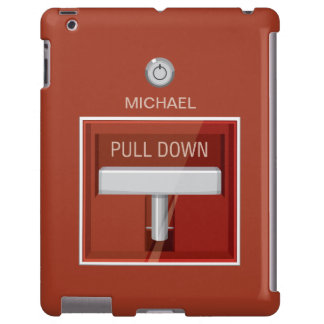 Fire Alarm Station Funny iPad Case