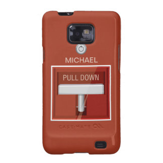 Fire Alarm Station Funny iPhone Case Samsung Galaxy S2 Covers