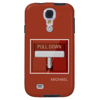 Fire Alarm Station Funny Samsung Galaxy S4 Case