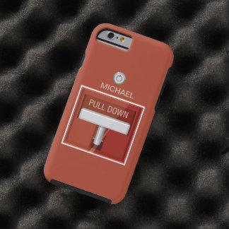 Fire Alarm Station Tough iPhone 6 Case
