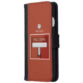 Fire Alarm Station Wallet Phone Case For iPhone 6/6s