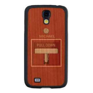 Fire Alarm Station Carved® Cherry Galaxy S4 Case
