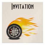 Fire, Alloy Custom Invitations