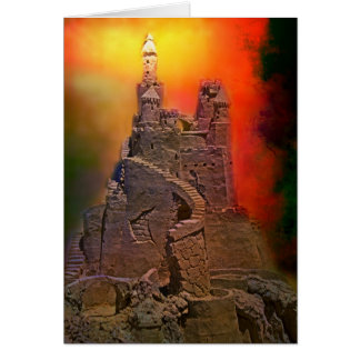 Fire and Brimstone Greeting Card