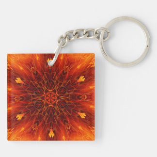 Fire and cenergy keychain