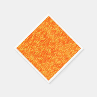 Fire and Flame Paper Napkin