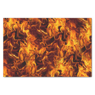 """Fire and Flame Pattern 10"""" X 15"""" Tissue Paper"""