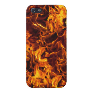 Fire and Flame Pattern Cover For iPhone SE/5/5s