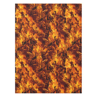 Fire and Flame Pattern Tablecloth
