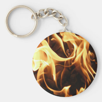 Fire and Flames Key Chain