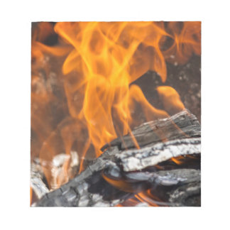 fire and flames note pads