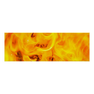 Fire and flames poster