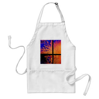 Fire and Ice Adult Apron