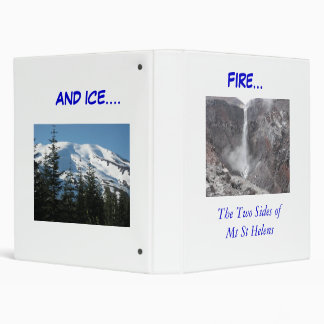 Fire and Ice binder