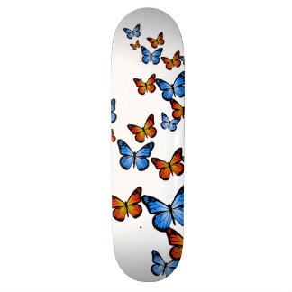 Fire and Ice Butterflies Skateboard Deck