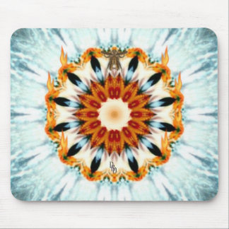 Fire and Ice Mouse Pad