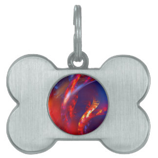 Fire and Ice Pet Tag
