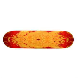 Fire and Ice Custom Skateboard