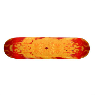Fire and Ice Skateboard Deck