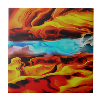 Fire and Ice Tile