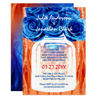 Fire Ice Wedding Theme Ideas Gifts on Zazzle