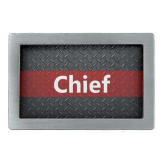 Fire and Rescue Diamond Plate Belt Buckle