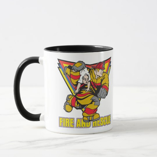Fire and Rescue Mug