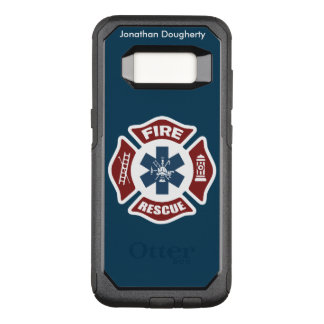 Fire and Rescue OtterBox Commuter Samsung Galaxy S8 Case