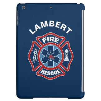 Fire and Rescue Red and Blue iPad Air Covers