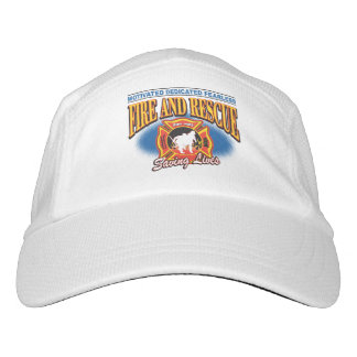 Fire and Rescue Saving Lives Headsweats Hat