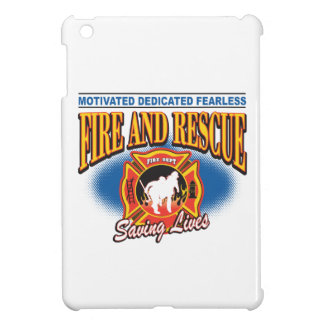 Fire and Rescue Saving Lives iPad Mini Case