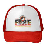 Fire and Rescue Trucker Hat